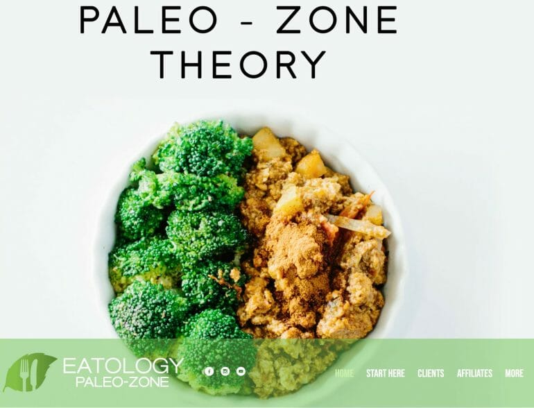 Eatology - Paleo - Zone Meal Delivery Service