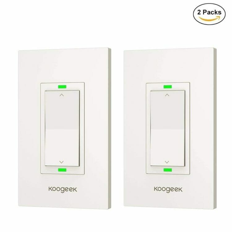 Koogeek KH03 Smart Dimmer - 2 Pack