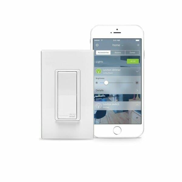 Leviton Decora Smart Switch with app