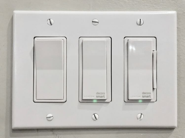 Combination of Smart and Dumb Switches in one Panel