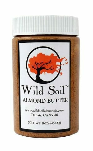 Wild Soil Almond Butter is an excellent source of fat