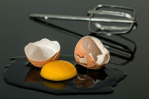 Eggs are an excellent source of protein and fat, including cholesterol.