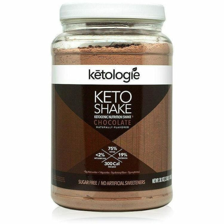 Ketologie Chocolate Keto Shake
