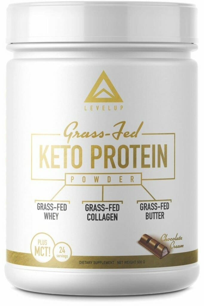 LevelUp Grass-fed Keto Protein