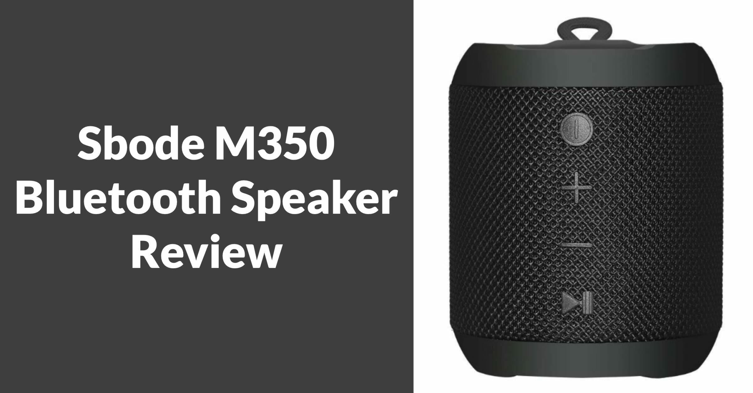 sbode m350 bluetooth speaker review