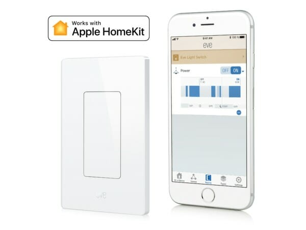 Eve Light Switch with Eve app