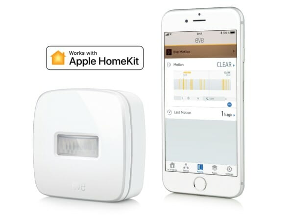 Eve Motion Sensor with Eve App