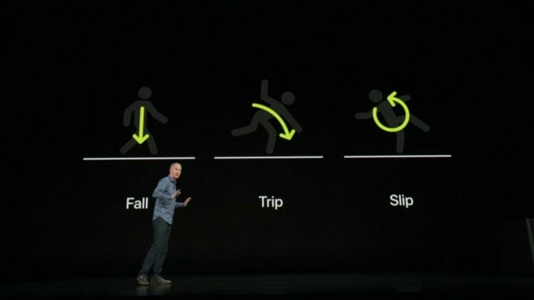 Fall Detection in the new Apple Watch Series 4