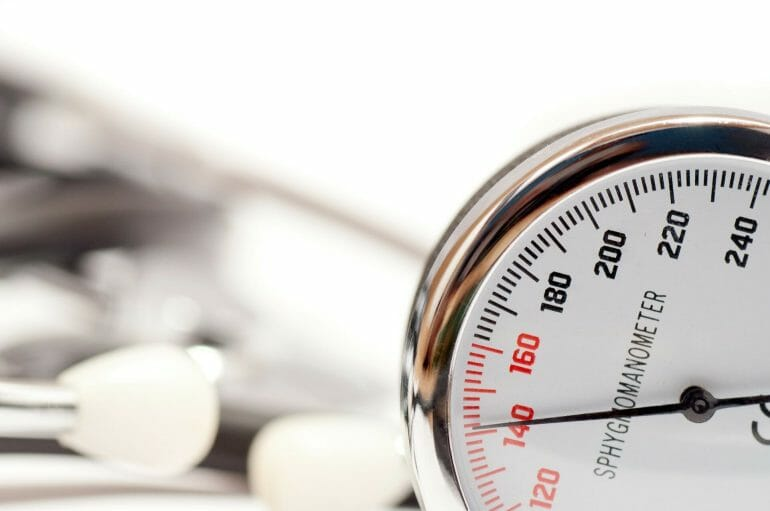 Reduction in blood pressure - one of the benefits of intermittent fasting