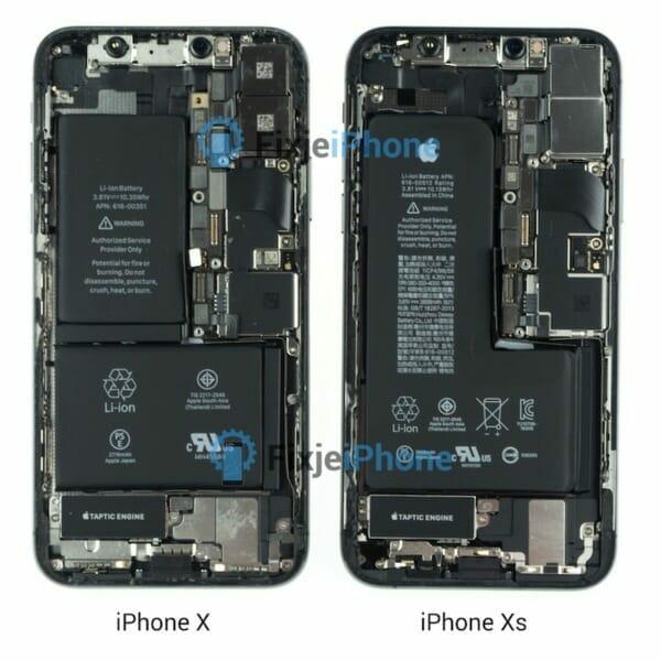 iPhone X vs. iPhone XS Teardown