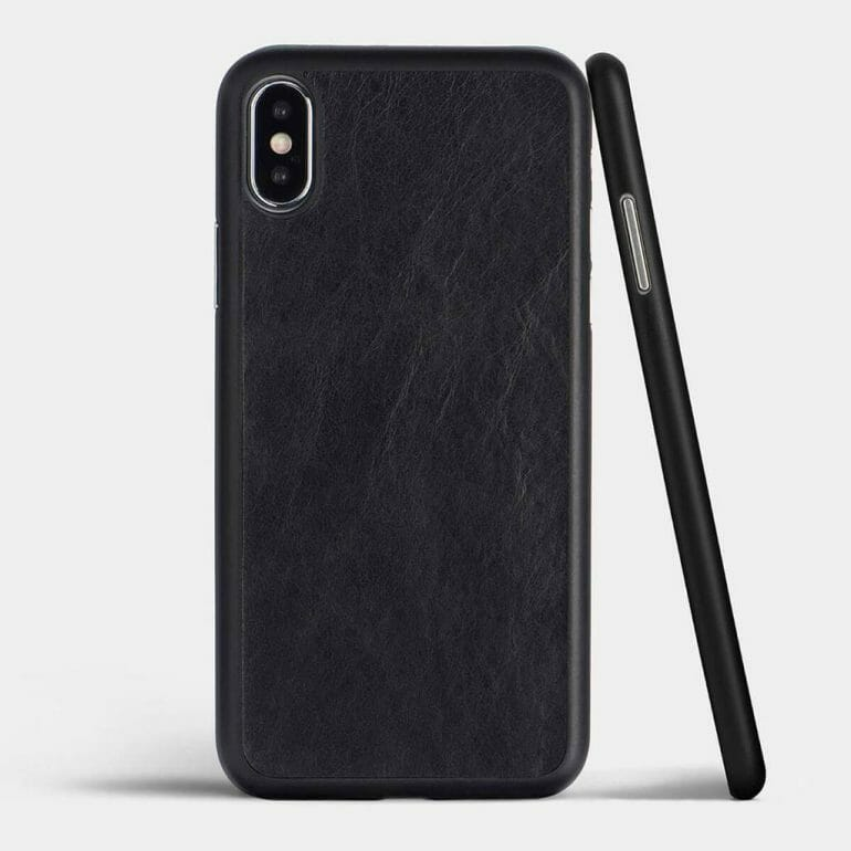 Totallee Thin Leather Cases for iPhone XS