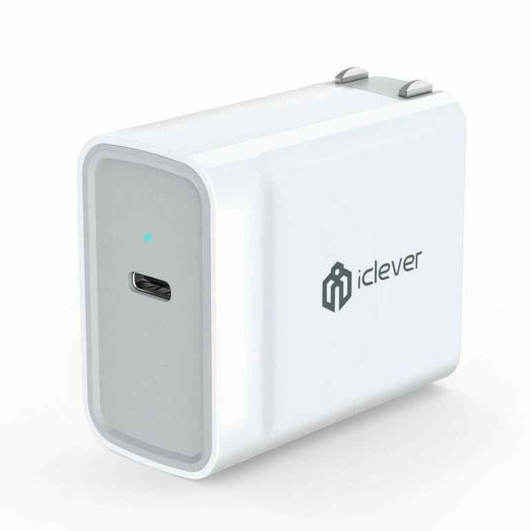 iClever 30W USB-C Wall Charger with Power Delivery