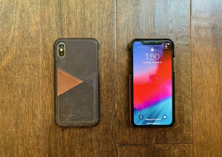 Meridio Genuine Leather Cases - Front and Back