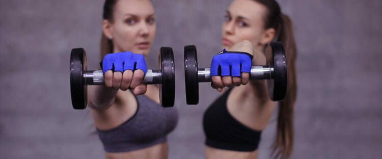 Barehand Workout Gloves