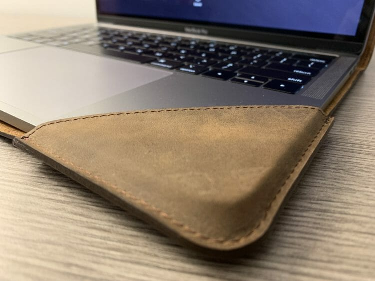 Burkley MacBook Pro Leather Sleeve - Fit