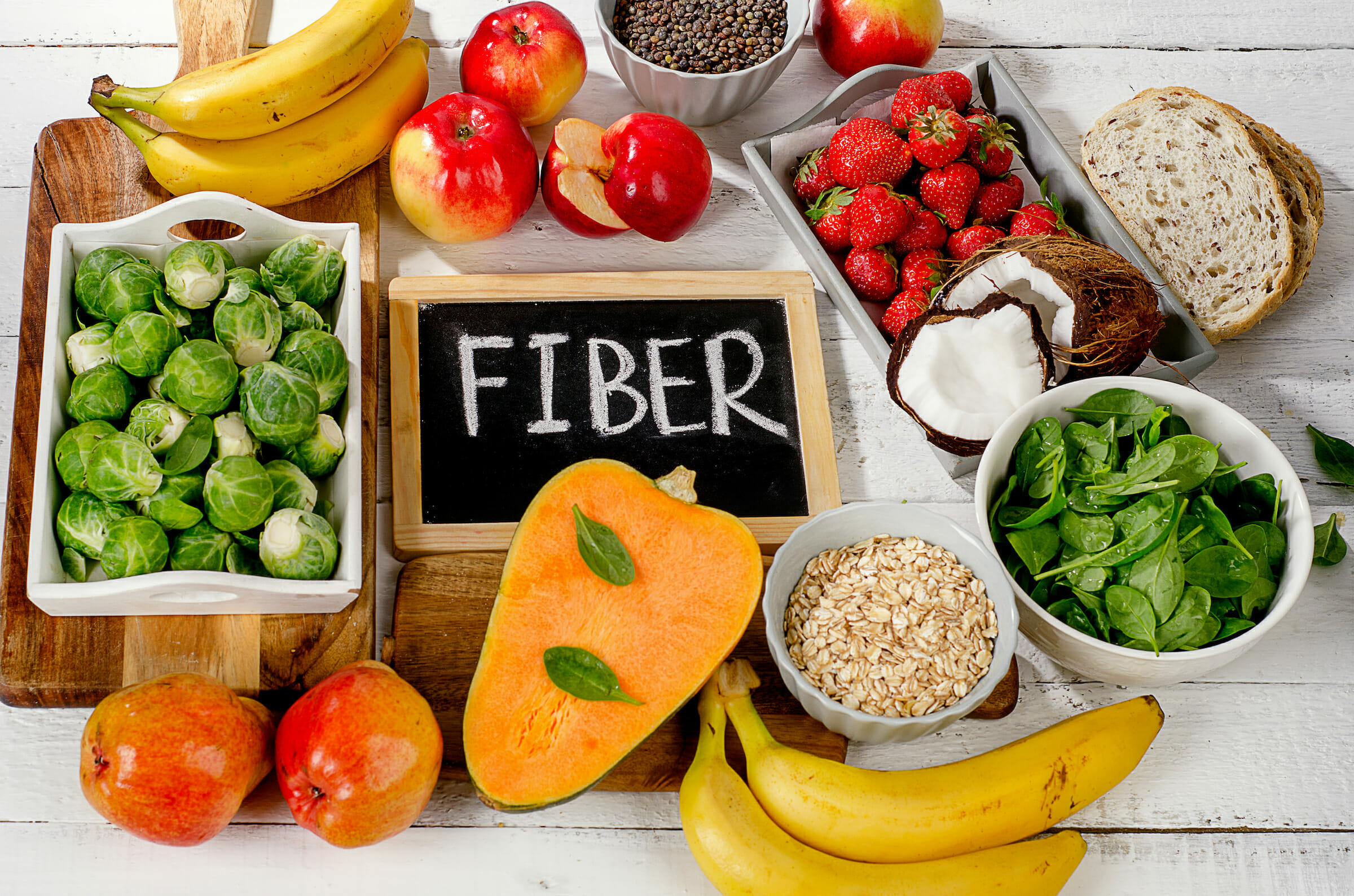 Dietary Fiber Benefits, Myths and Food List