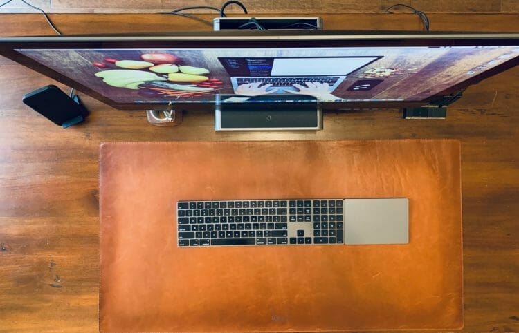 Burkley Leather Desk Mat
