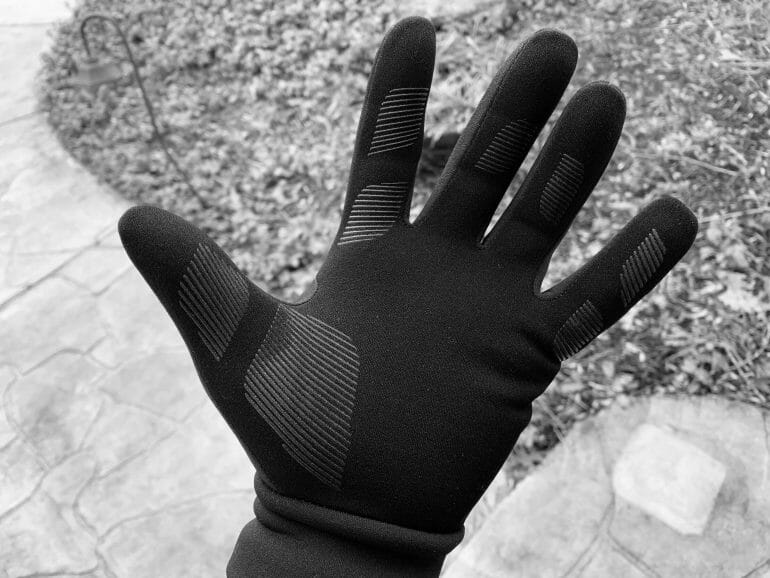 Mujjo Touchscreen gloves - Silicone lines
