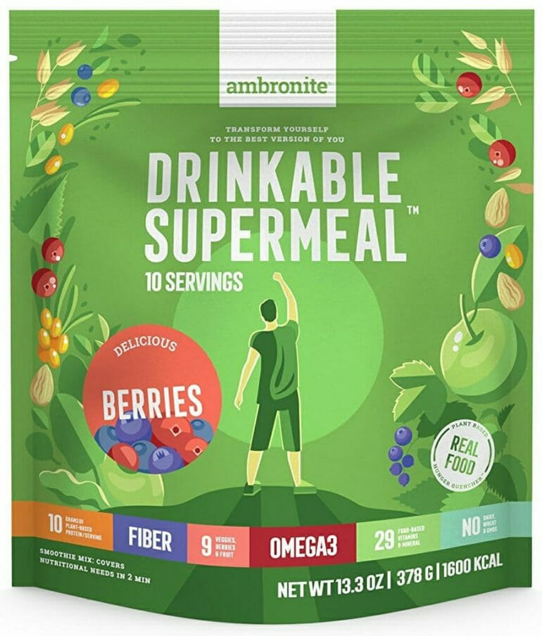 Ambronite - Vegan Superfood Drink