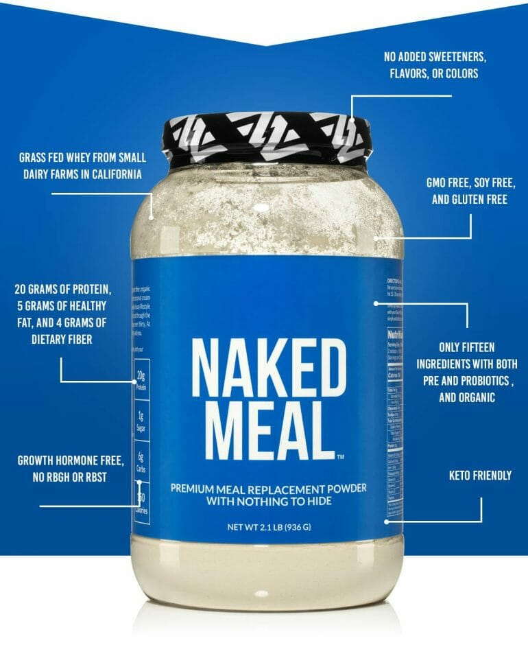 Naked Meal - Nutritional Information