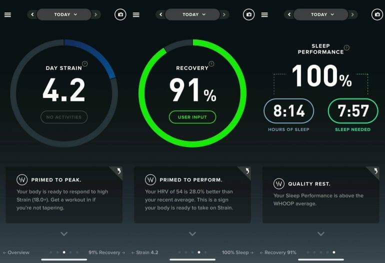 WHOOP App Overview