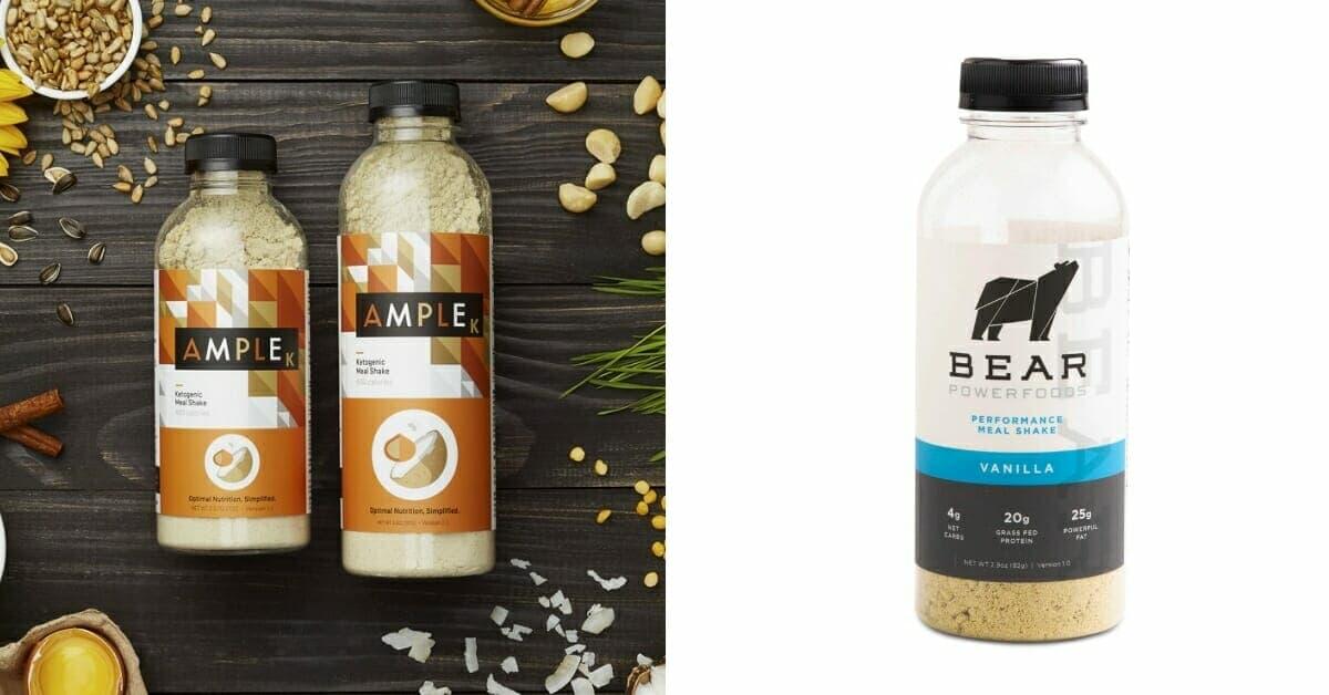 Ample vs. Bear - Keto Meal Shakes