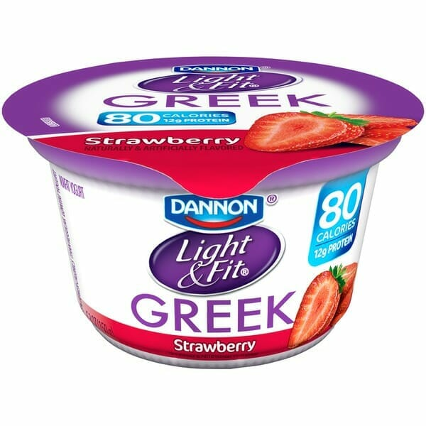Dannon Light and Fit Low-fat Yoghurt