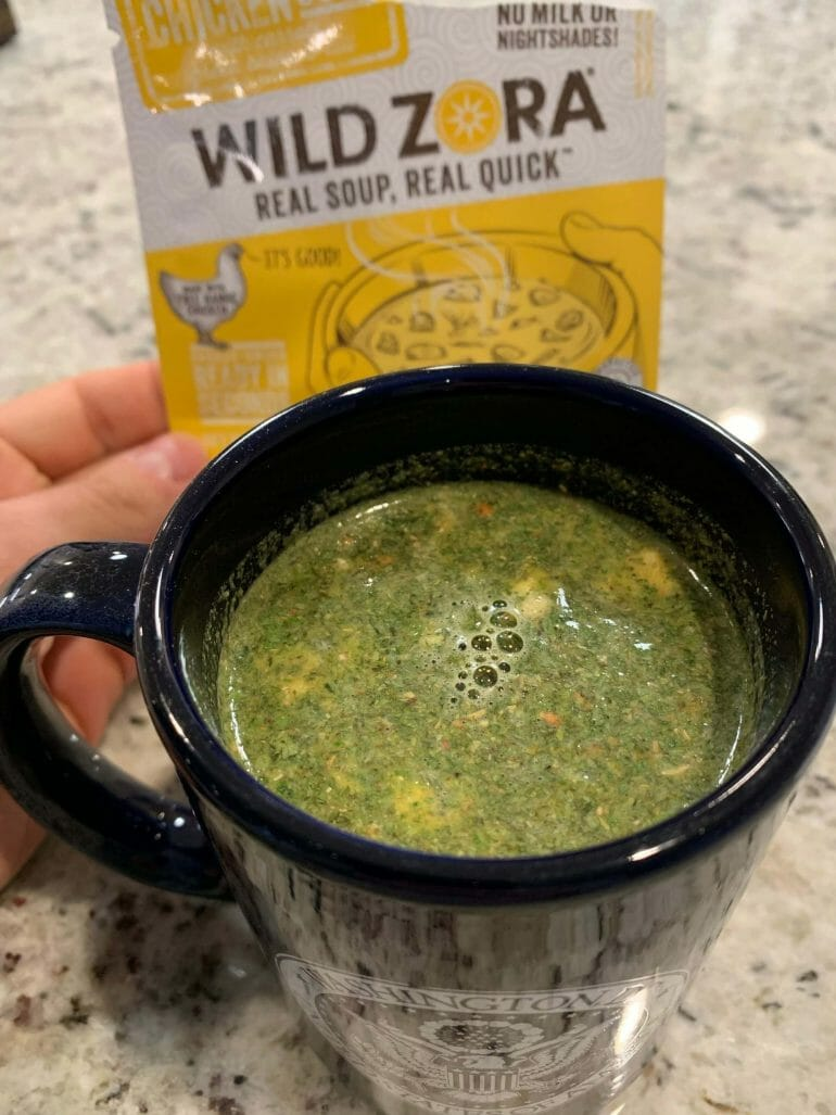 Wild Zora Chicken Lemon Soup