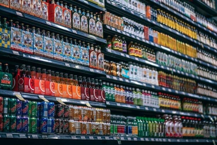 Unhealthy beverages - sodas