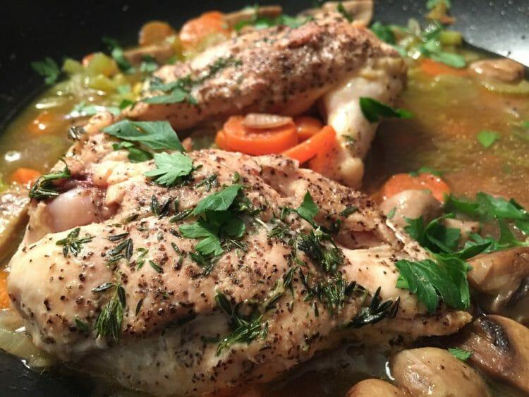 Mediterranean chicken dish