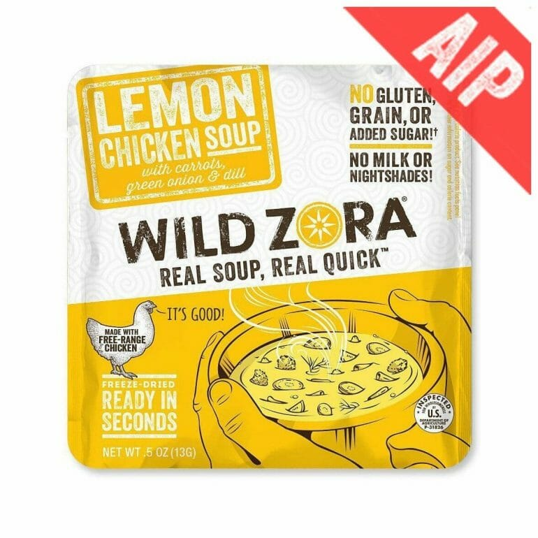 Wild Zora - Lemon Chicken Soup
