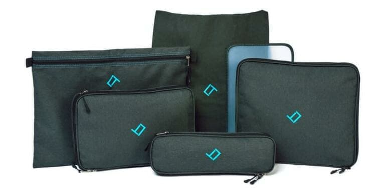 Qubix Double Compression Packing Cubes - Set