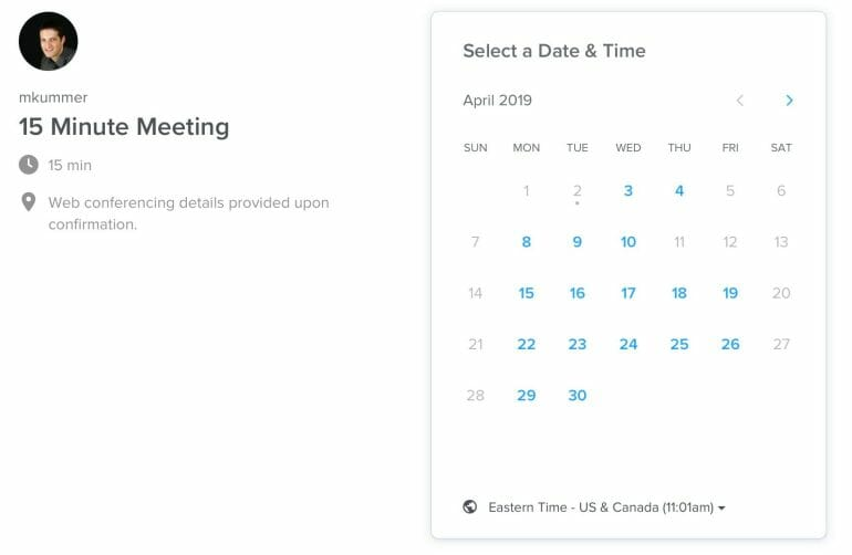 Calendly - Makes scheduling meetings a breeze