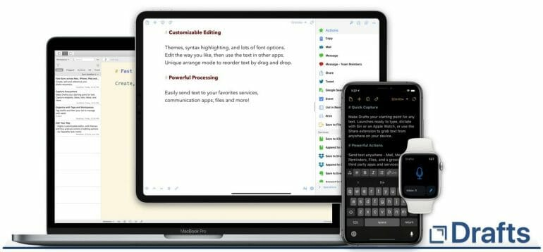 Drafts - The quickest way to enter text