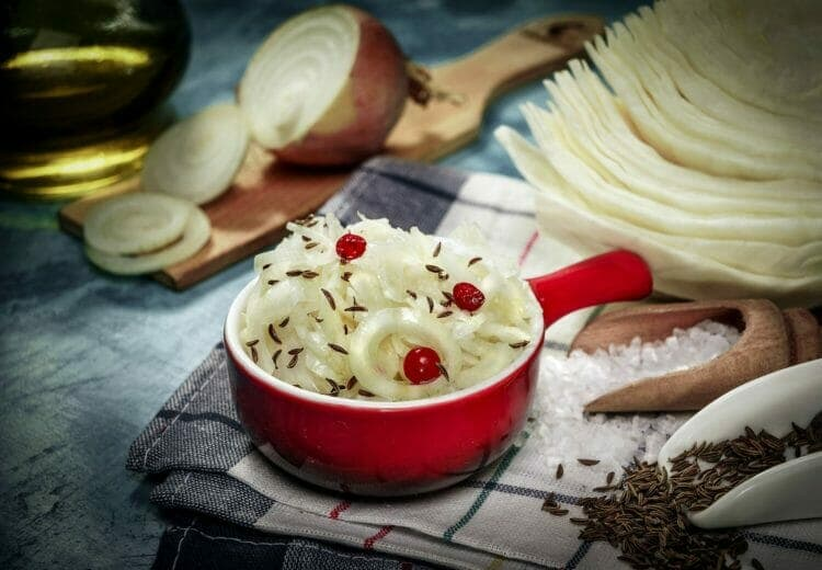 Fermented Food, Such As Sauerkraut Feeds The Healthy Bacteria in Your Gut
