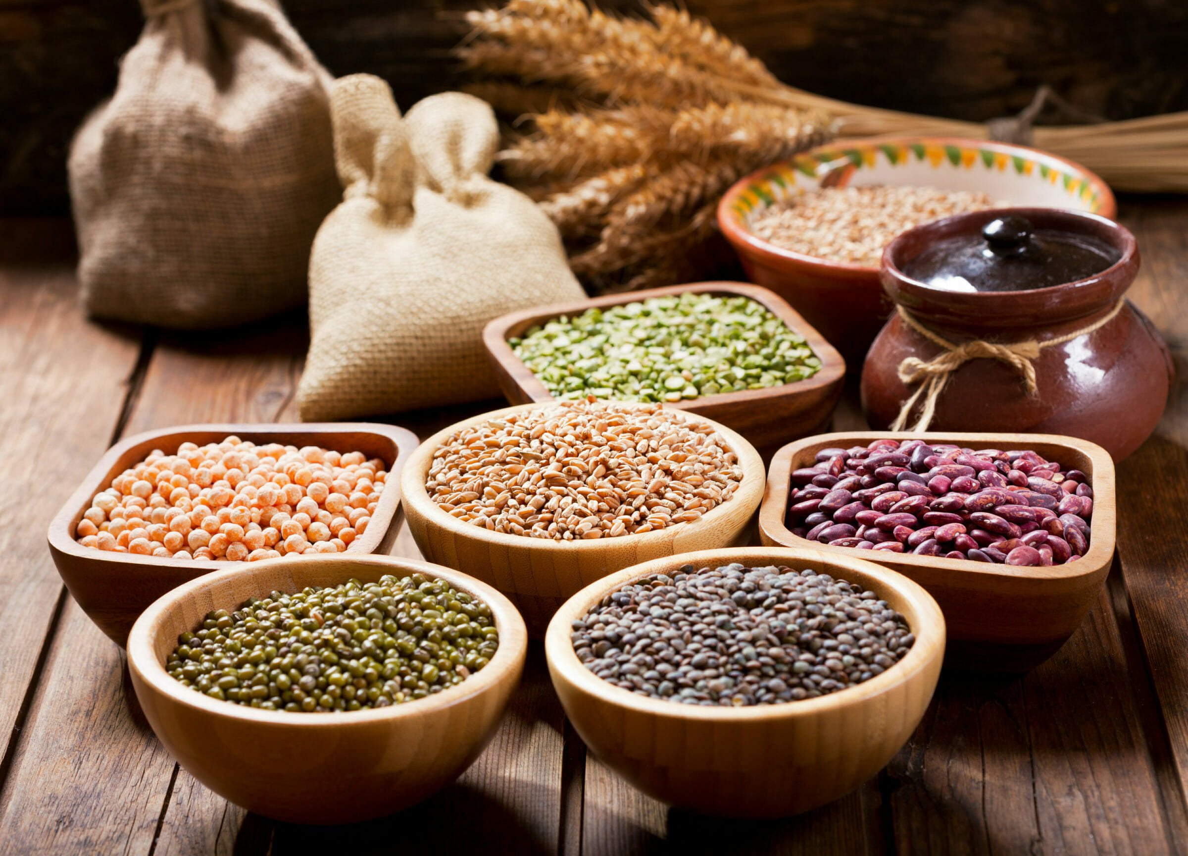 Legumes provide low nutritional value