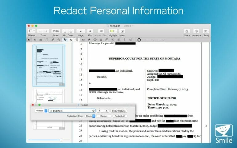 PDFpenPro - Advanced PDF manipulation