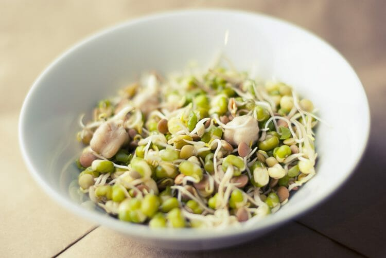 Sprouting can remove certain antinutrients