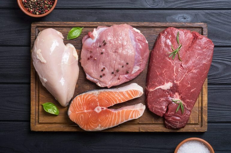 Proteins - meat and seafood copy