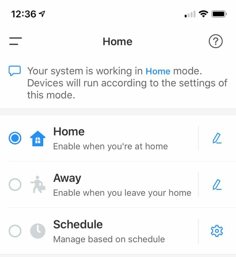 eufyCam lacks geofencing and HomeKit support