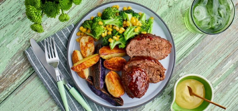 Green Chef: Barbecue Meatloaf