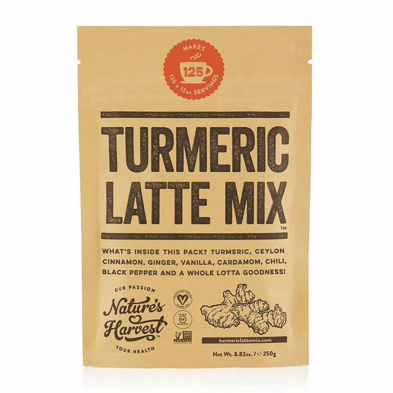 Nature's Harvest - Turmeric Latte Mix