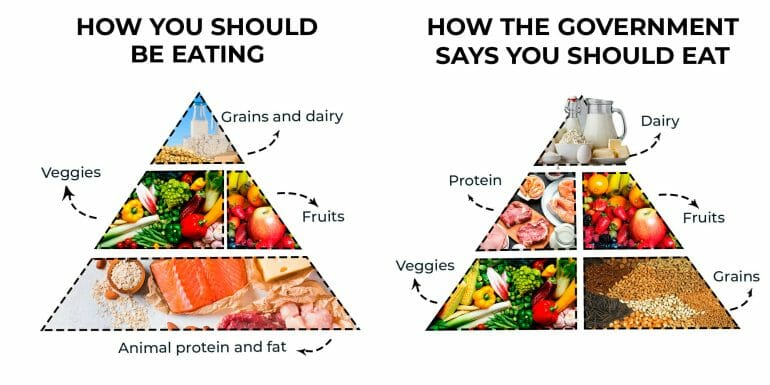 How you should eat vs. How the government says you should eat