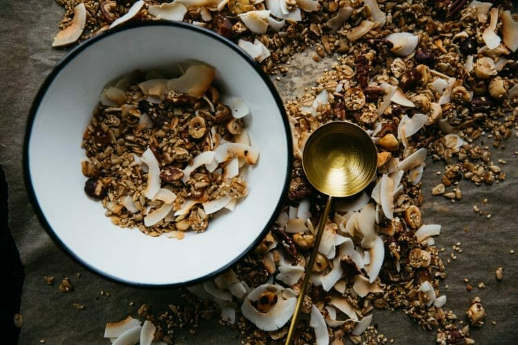 granola - a vegan meatless protein source