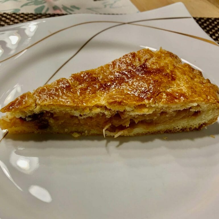 Austrian Apple cake that mom made