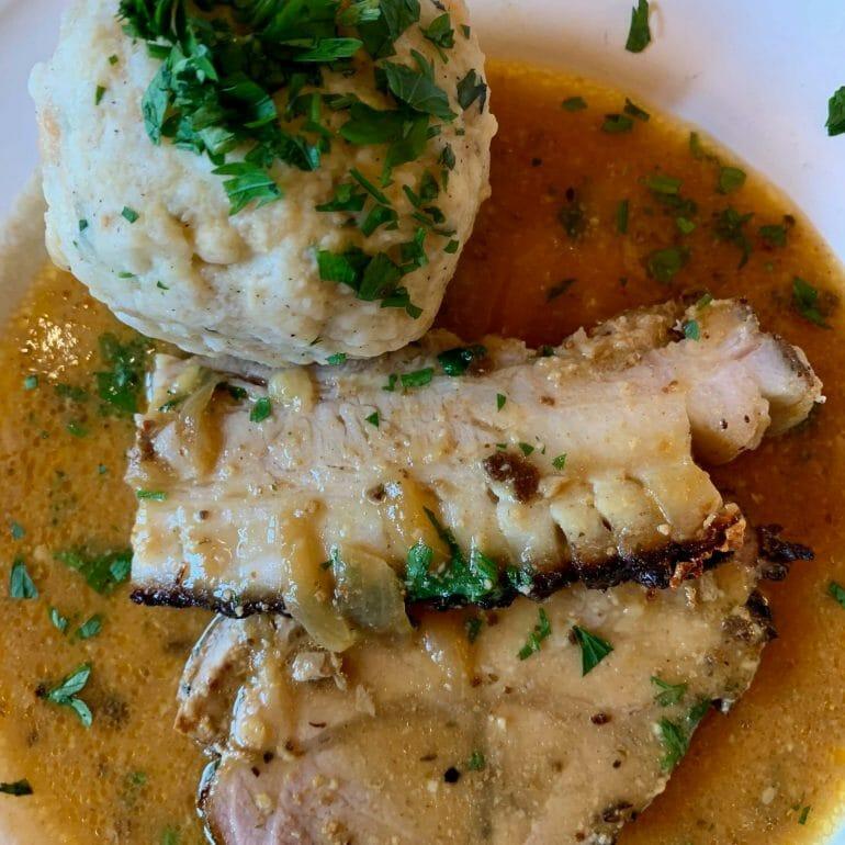 Austrian pork roast (without the dumpling)