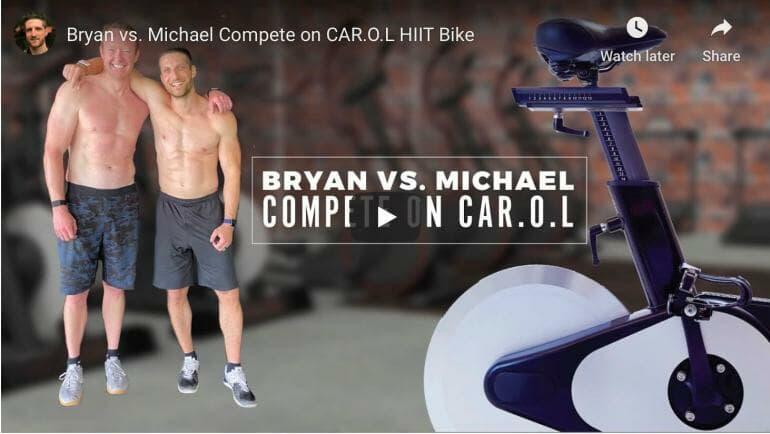 Video: Bryan vs. Michael Compete on CAR.O.L