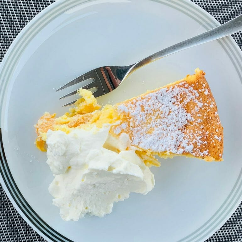 Flourless apricot cake my sister-in-law's mom made for us