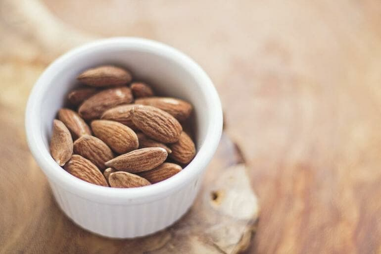 Almonds are one of the most popular nuts in the US.