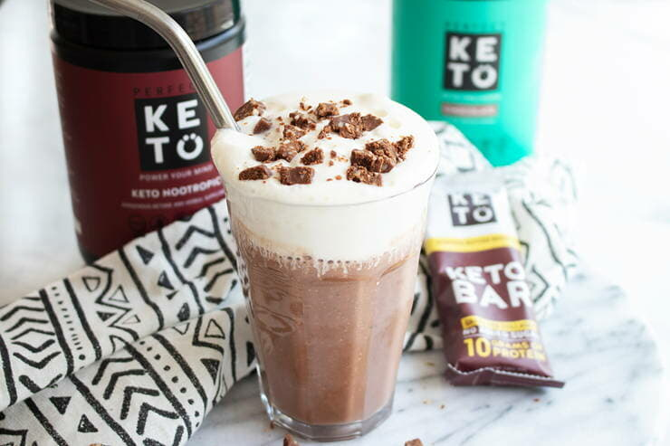 Triple Chocolate Breakfast Smoothie (Perfect Keto)